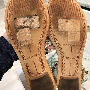"b229e5affa9d Dolce Vita Shoes - Dolce vita ""karma"" calf hair sandal size 9"